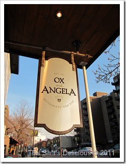 I wonder who's the Ox and who's Angela?