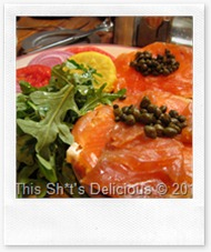 Park lox and capers - sexy!