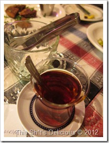 The Turks have their own twist on Arabian-style tea